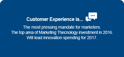 'Customer experience is' stats
