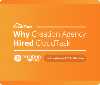 Case study: Why Creation Agency hired CloudTask