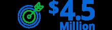 Generate over $4.5 million in pipline